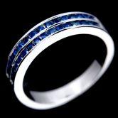 Кольцо с Сапфиром бриллиантовой огранки