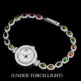 Часы с черными Опаламм